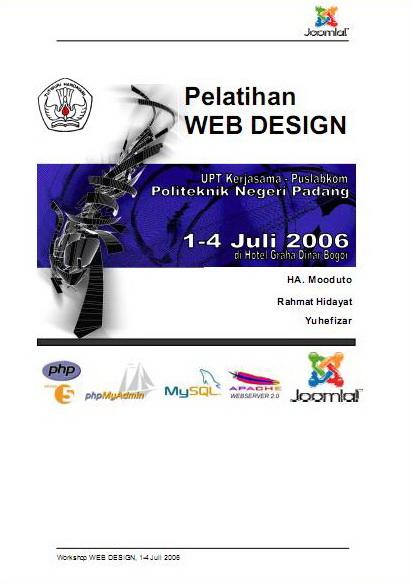 Web Design menggunakan Joomla