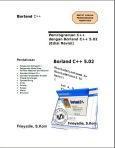 Pemograman C++ dengan Borland C++ | Ebook