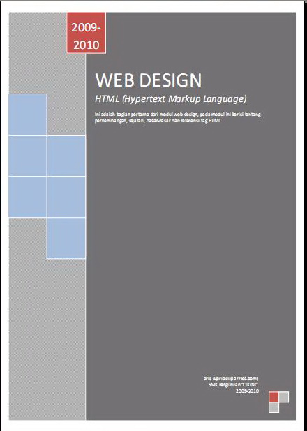 Tutorial Web Design HTML